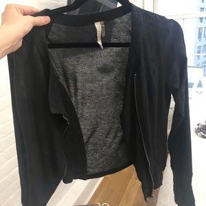 Miilla Clothing Jackets & Coats - Black zip up jacket